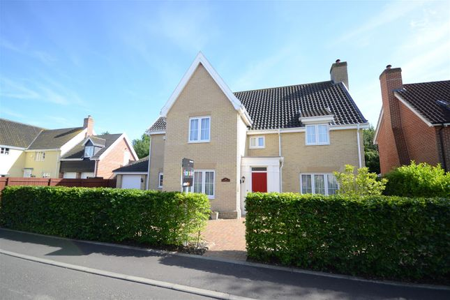 Thumbnail Detached house for sale in Mulbarton, Norwich