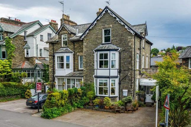 Thumbnail Hotel/guest house for sale in Crompton House, Lake Road, Windermere, Cumbria