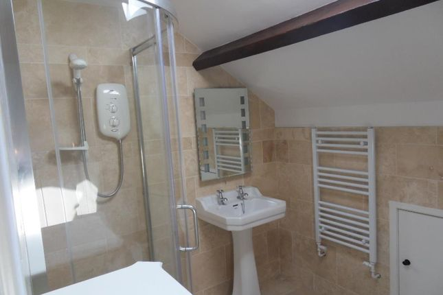 Hallway Leading To Shower Room