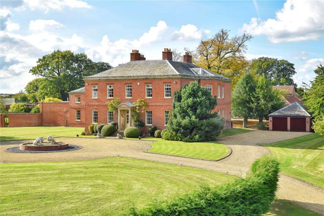 Thumbnail Detached house for sale in Syerston Hall Park, Syerston, Newark, Nottinghamshire