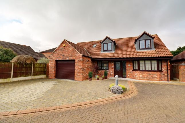 Thumbnail Detached bungalow for sale in The Steadings, Flixborough, Scunthorpe