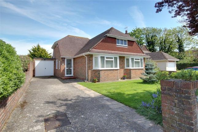Thumbnail Detached bungalow for sale in Warnham Road, Goring By Sea, Worthing