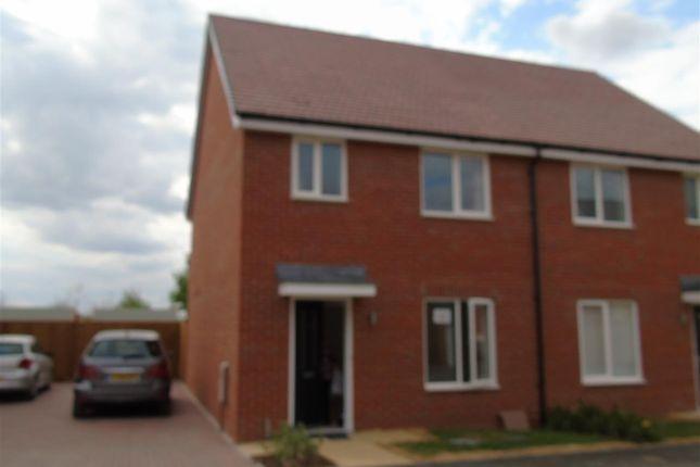 Thumbnail Semi-detached house to rent in Kentish Street, Berryfields, Aylesbury