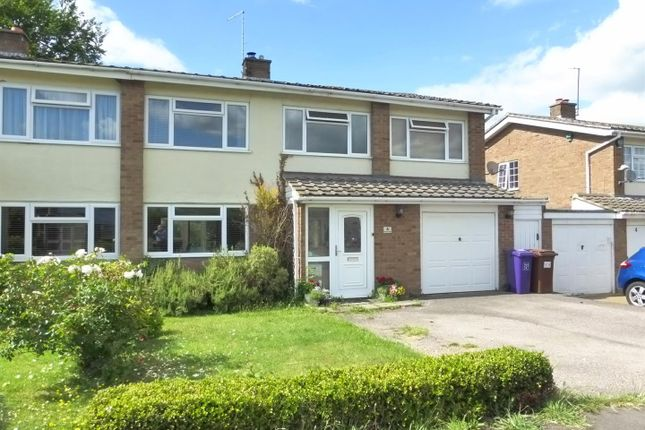 Thumbnail Semi-detached house for sale in Honey Way, Royston
