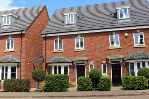 Thumbnail Town house to rent in Sturmer Road, Woodlands Park