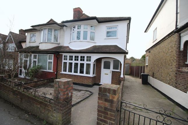 Thumbnail Semi-detached house to rent in Crown Dale, Upper Norwood