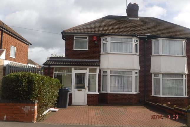 Thumbnail Semi-detached house for sale in Oscott School Lane, Birmingham