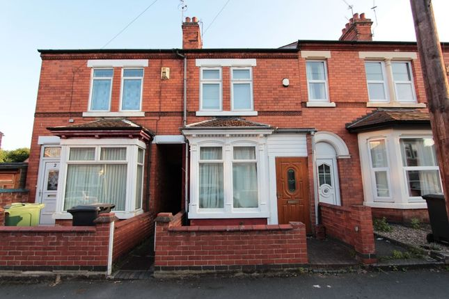Thumbnail Terraced house to rent in Caldwell Street, Loughborough