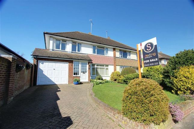 Thumbnail Semi-detached house for sale in Windmill Way, Tring
