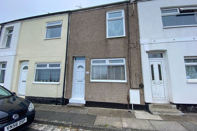 Thumbnail Terraced house for sale in Railway Terrace, Brotton, Saltburn-By-The-Sea
