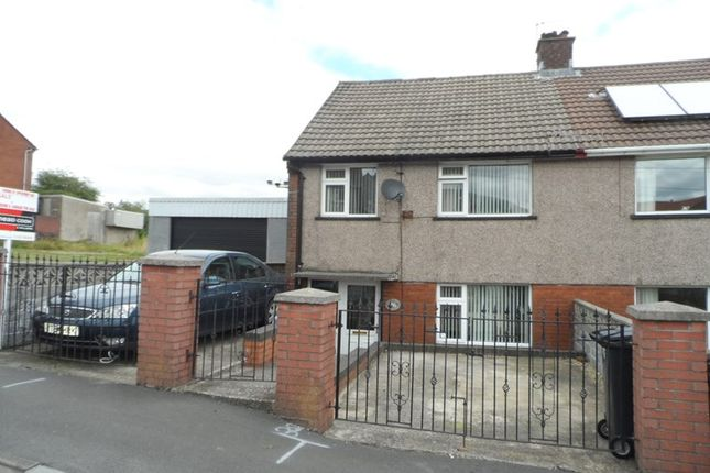 Thumbnail Semi-detached house for sale in Maesgwyn, Cwmdare, Aberdare