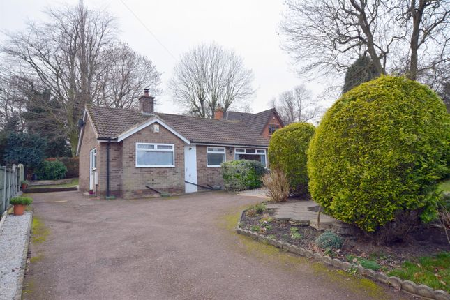 Thumbnail Detached bungalow for sale in Lancaster Road, Newbold, Chesterfield