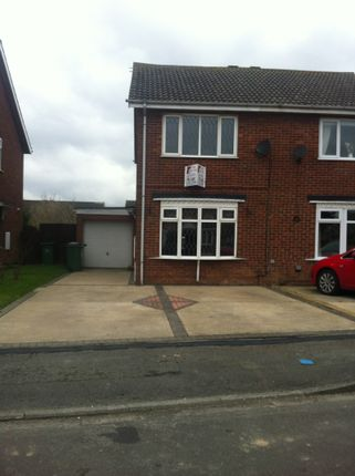 Thumbnail Semi-detached house to rent in Calder Close, Immingham