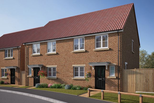 """Thumbnail Semi-detached house for sale in """"The Eveleigh"""" at Cobblers Lane, Pontefract"""