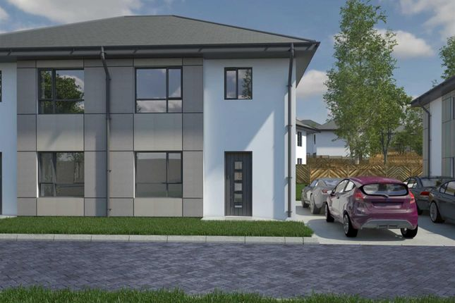 Thumbnail Semi-detached house for sale in Thornhill Park, Ramsey, Isle Of Man