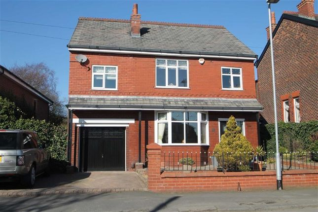 Thumbnail Detached house for sale in Hazelhurst Road, Worsley, Manchester