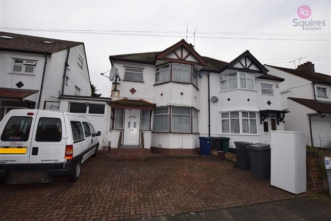 Thumbnail Semi-detached house to rent in Grove Road, Edgware, Middlesex