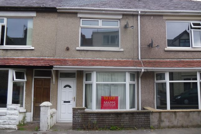 Thumbnail Terraced house to rent in Harrington Road, Morecambe