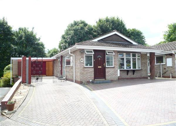 Thumbnail Bungalow for sale in Halecroft Avenue, Wednesfield, Wednesfiekld