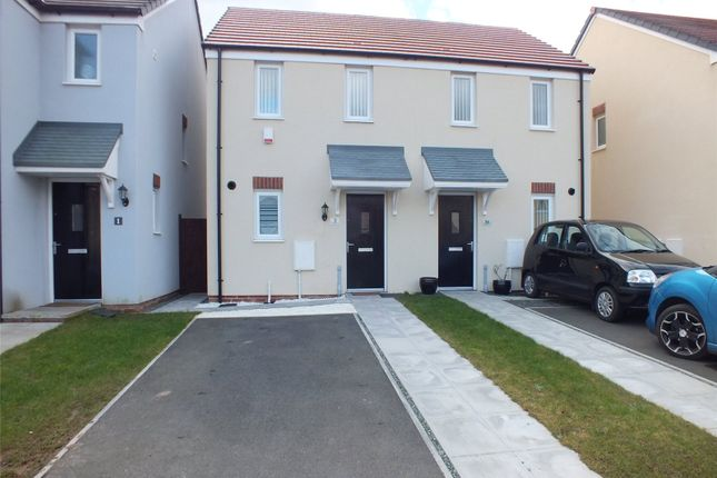 Thumbnail Terraced house for sale in Gleneagles Close, Hubberston, Milford Haven