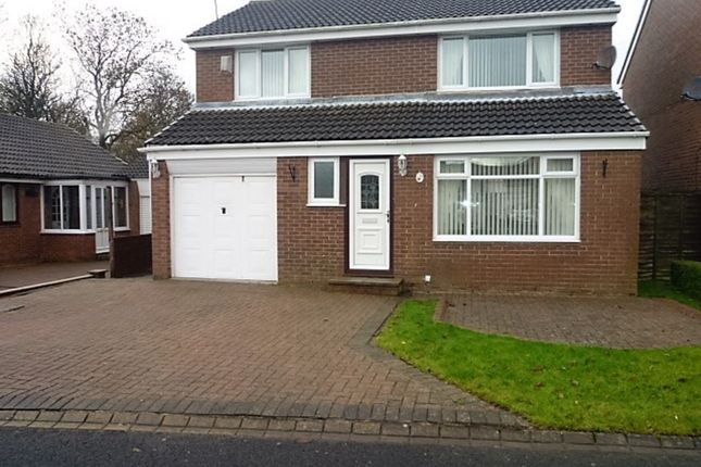 Thumbnail Detached house for sale in Vanburgh Court, Seaton Delaval, Whitley Bay