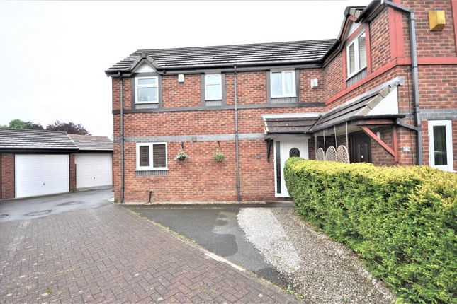 Thumbnail Semi-detached house for sale in Ferndale Close, Freckleton, Preston, Lancashire