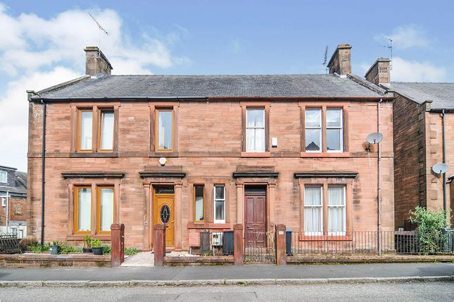 Thumbnail Semi-detached house for sale in Glebe Street, Dumfries, Dumfries And Galloway