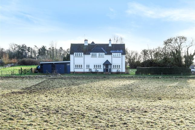 Thumbnail Detached house to rent in Warren Farm, Andover Road, Winchester, Hampshire