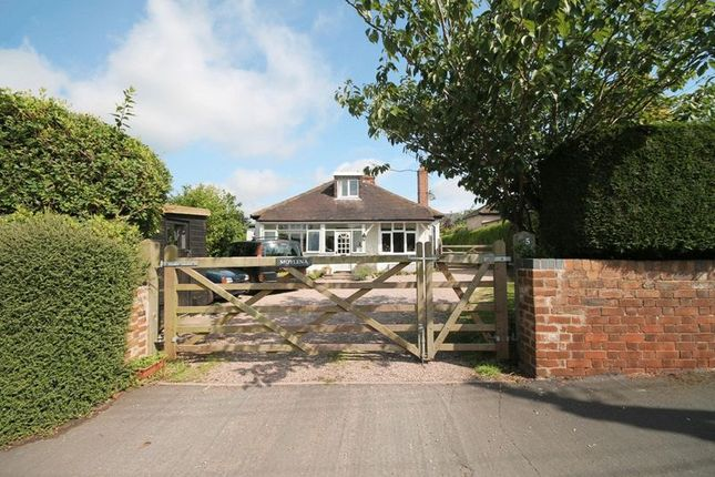 Thumbnail Detached bungalow for sale in Market Drayton Road, Loggerheads, Market Drayton