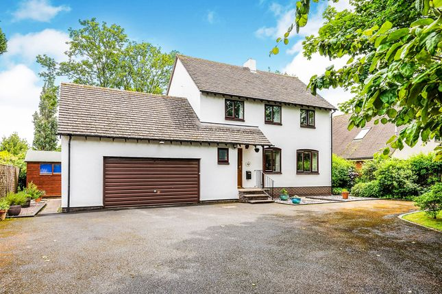 Thumbnail Detached house for sale in Wyelands Close, Hereford