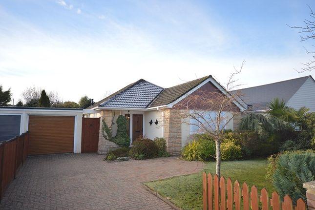Thumbnail Detached bungalow for sale in Longfield Road, Hordle, Lymington