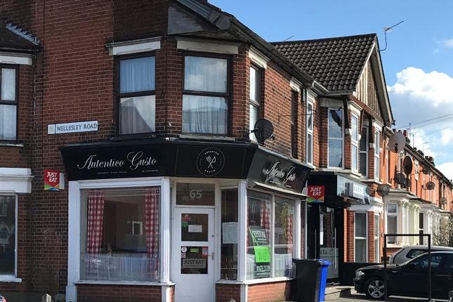 Thumbnail Restaurant/cafe to let in 65 Foxhall Road, Ipswich