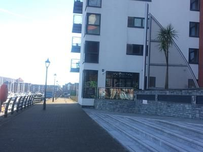 Thumbnail Retail premises to let in Unit 7 Meridian Quay, Trawler Road, Maritime Quarter, Swansea