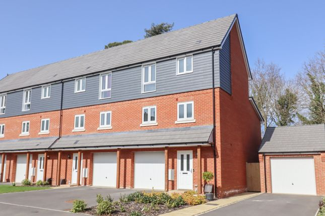 Thumbnail End terrace house for sale in Davidson Drive, Fair Oak, Eastleigh