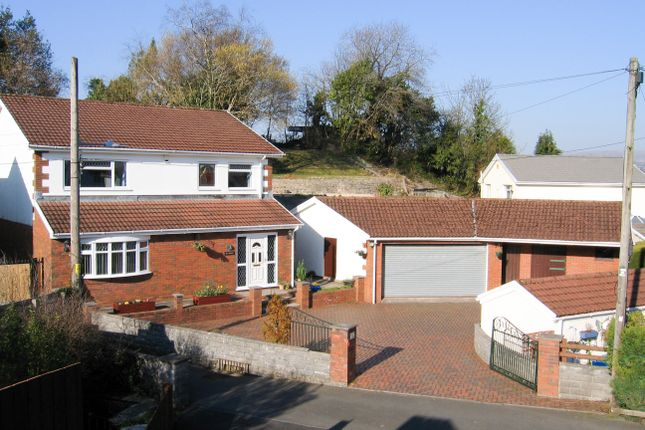 Thumbnail Detached house for sale in Cwm Cottages, Heolgerrig, Merthyr Tydfil