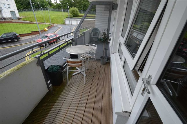 Balcony of Dougrie Place, Castlemilk, Glasgow G45