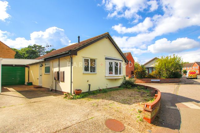 Thumbnail Detached bungalow for sale in Chinook, Highwoods, Colchester
