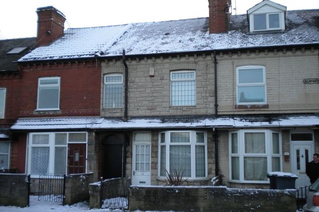 Thumbnail Terraced house to rent in Coxmoor Road, Sutton-In-Ashfield