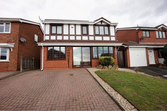 Thumbnail Detached house for sale in Aintree Way, Dudley