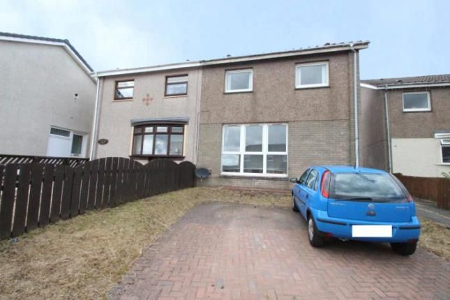 Thumbnail Semi-detached house for sale in Kintyre Crescent, Plains, Airdrie, North Lanarkshire