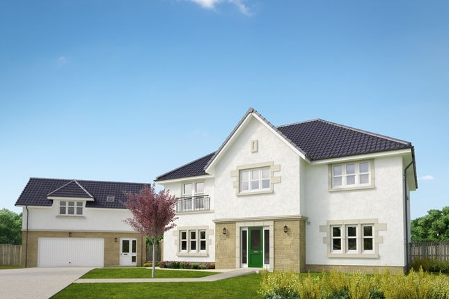 "Thumbnail Detached house for sale in ""The Macrae"" at Peel Road, Thorntonhall, Glasgow"