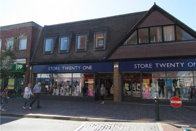 Thumbnail Retail premises to let in 127, High Street, Sittingbourne, Kent, England