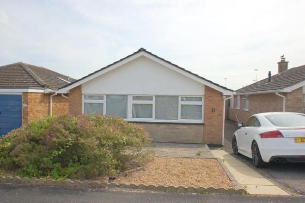 Thumbnail Detached bungalow for sale in Martello Close, Gosport