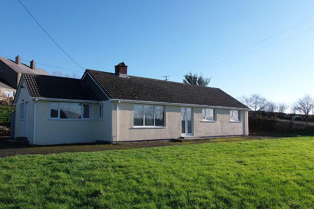 Thumbnail Detached bungalow to rent in Dunterton, Milton Abbot