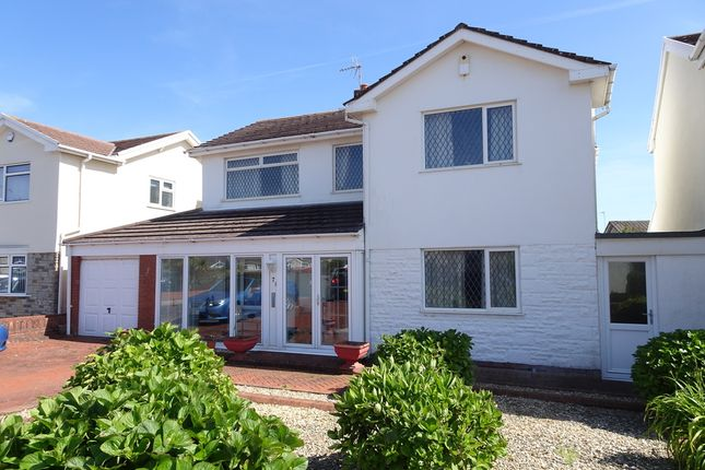 Thumbnail Detached house for sale in Kittiwake Close, Rest Bay, Porthcawl