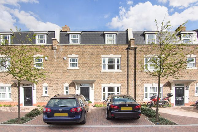 Thumbnail Terraced house to rent in Benkart Mews, Queen Mary's Place, London