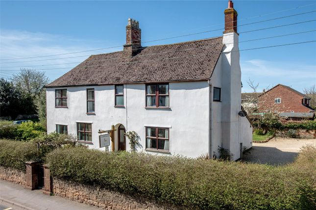 Thumbnail Detached house for sale in Long Street, Williton, Taunton, Somerset