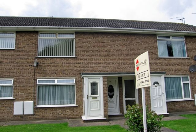 Thumbnail Flat to rent in Ark Royal, Bilton, Hull