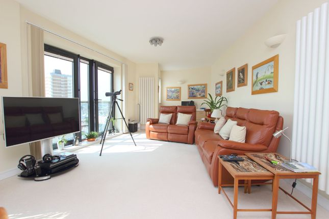 Thumbnail Flat for sale in Azure, 55 Cliff Road, The Hoe, Plymouth, Devon