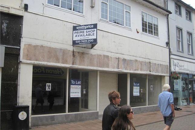 Thumbnail Retail premises to let in 66 King Street, Whitehaven, Cumbria